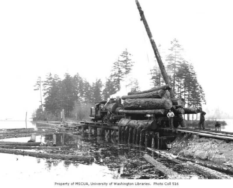 1928 Lake Sawyer Lumber Company.