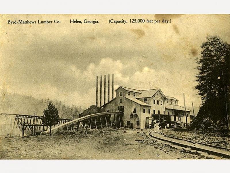 1900s Byrd-Matthews Lumber Company
