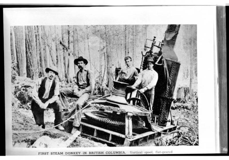 1902 Chemainus Camp.