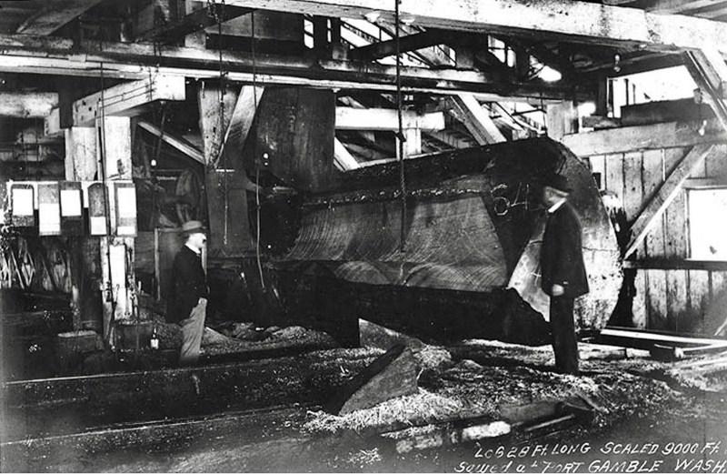 1900 Puget Mill, Port Gamble, Washington