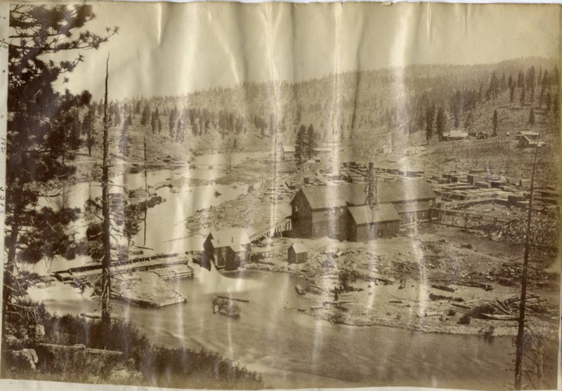1880 Richardson's Mill, Placer County.