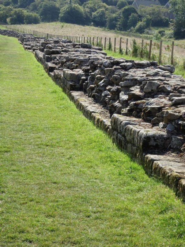 Hadrian's Wall at Heddon-on-the-Wall