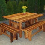 Cabbage Hill 4x4 Table Wood Country