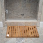 Toilettree 100 Natural Bamboo Deluxe Shower Floor And Bath Mat Skid Resistant Heavy Duty
