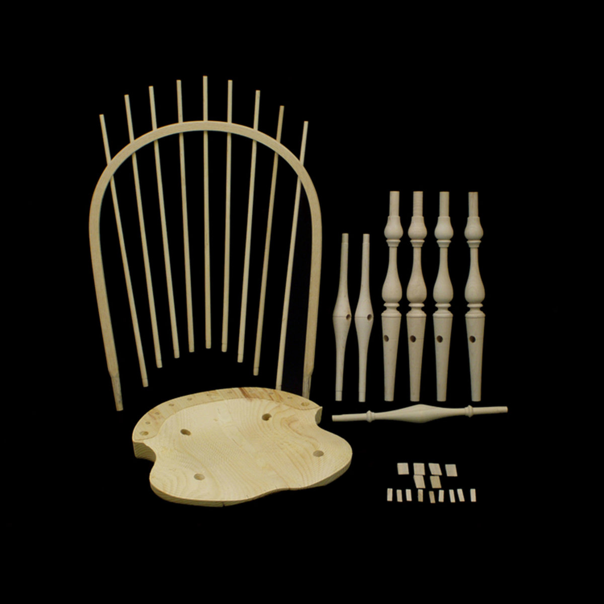 windsor chair kits parker knoll dining chairs bow back side kit