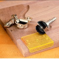 Decorating  Cabinet Door Hinge Jig