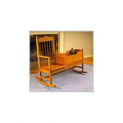 Rocking Chair Crib Combo Plastic Wood Adirondack Chairs U Bild Woodworking Project Paper Plan To Build View A Larger Image Of Cradle