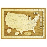 Woodworking Project Paper Plan to Build U.S. State Quarter ...