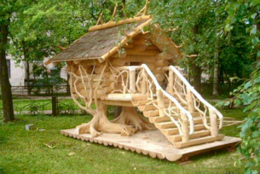 Log Play House