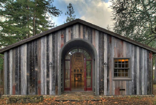 Recycled Wood Building