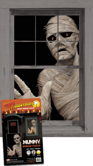 WP1390 Mummy Window Poster