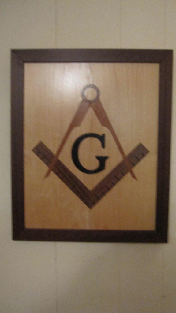 MWP - Masonic Symbol Wall Plague