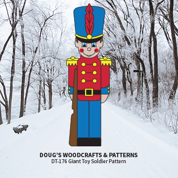 DT-176  Giant  Toy Soldier Pattern