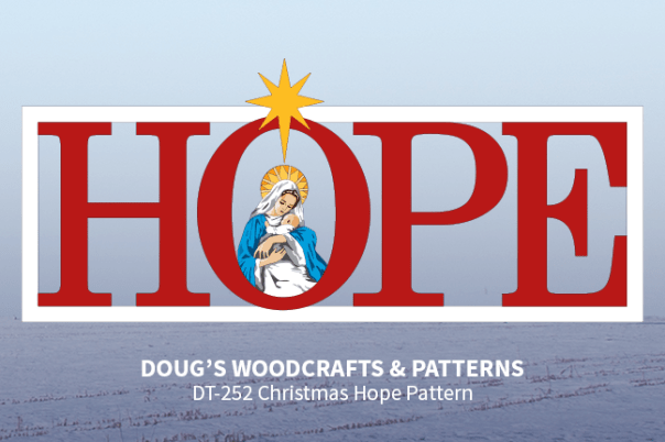 DT-252 Christmas Hope Yard Display Pattern