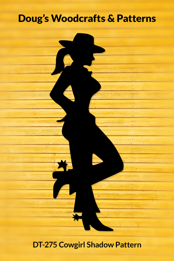 DT-275 Classy Cowgirl Shadow Pattern