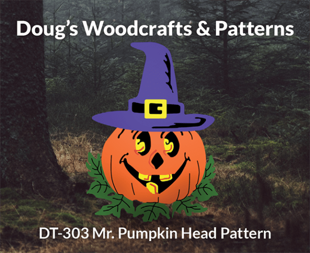 DT-303 MR. PUMPKINHEAD HALLOWEEN PATTERN