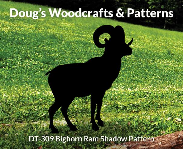 DT-309 Bighorn Ram Shadow Pattern