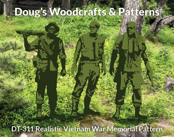 DT-311 Realistic Vietnam War Memorial Pattern