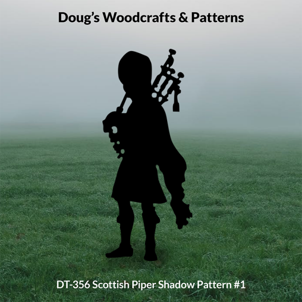 DT-356 Scottish Piper Shadow Pattern #1