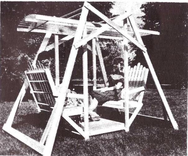 UB797 - Fold-away Lawn Swing Plan