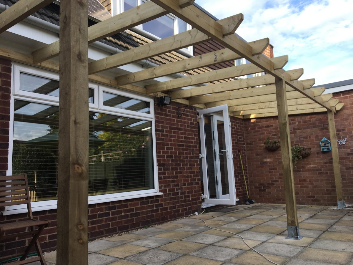 How to build your own veranda for under 500  Wood Create
