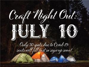 July Craft Night Out