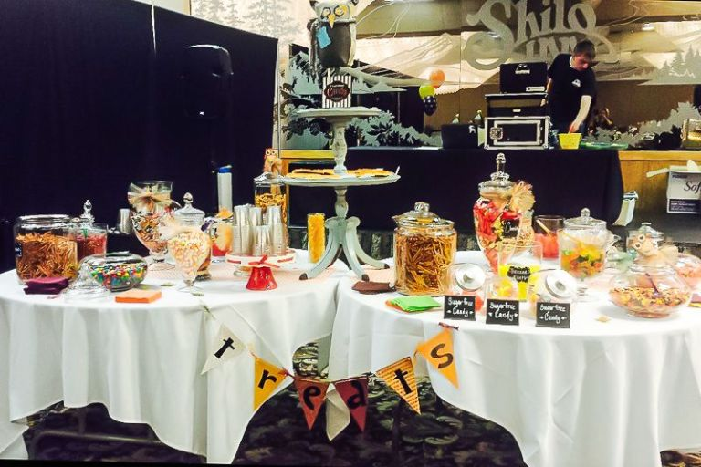 Wood Creations Boutique Halloween Themed Retreat Event