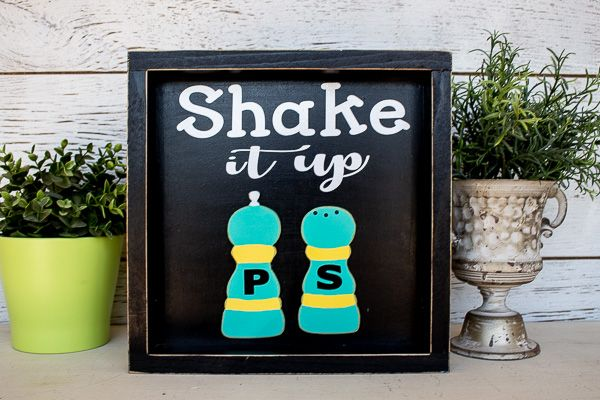 Kitchen Sign Shake it Up