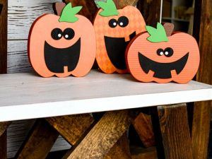 Halloween Pumpkin Trio