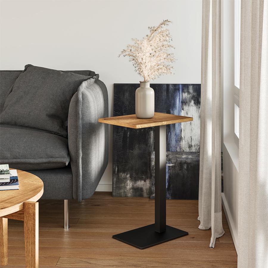 side table, wooden side table, table, oak side table