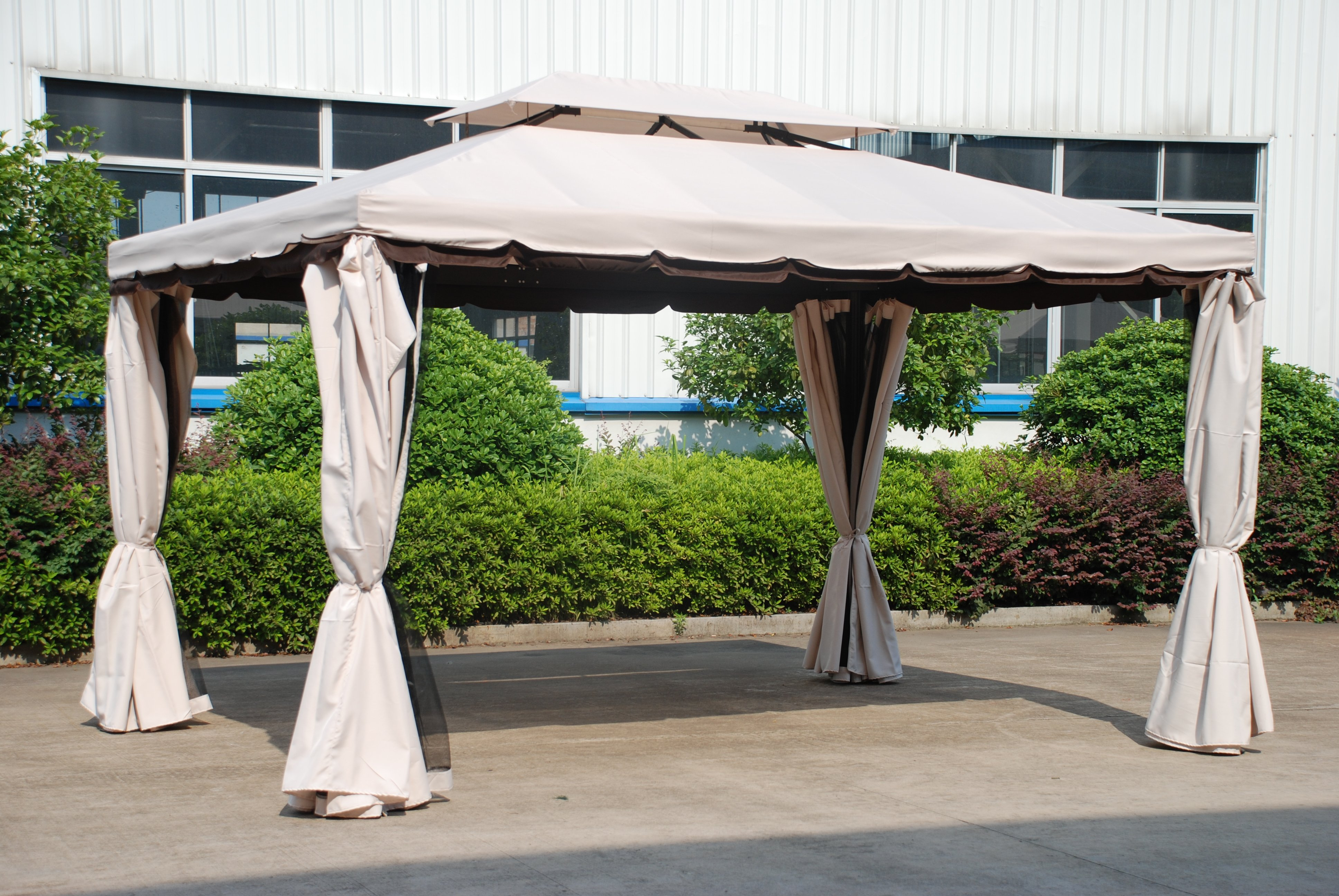 Large Deluxe Gazebo Simply Wood