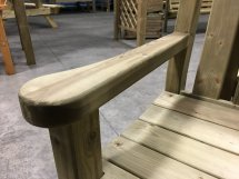 Anchor Fast Sidmouth 2 Seater Bench - Simply Wood