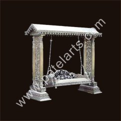 Sofa Exporters India 8 Foot Long Table Silver Metal Swings, Swing, Jhoola, Indian ...