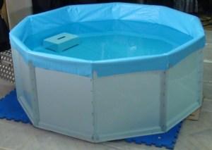 fibreglass baptistry