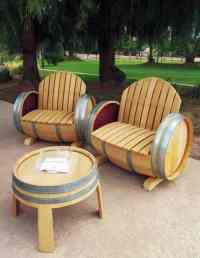 Easy Wooden Barrel Projects: Whiskey Barrel Coffee Table ...