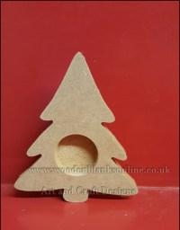 Christmas Tree T.Light Holder - Wooden Blanks Online