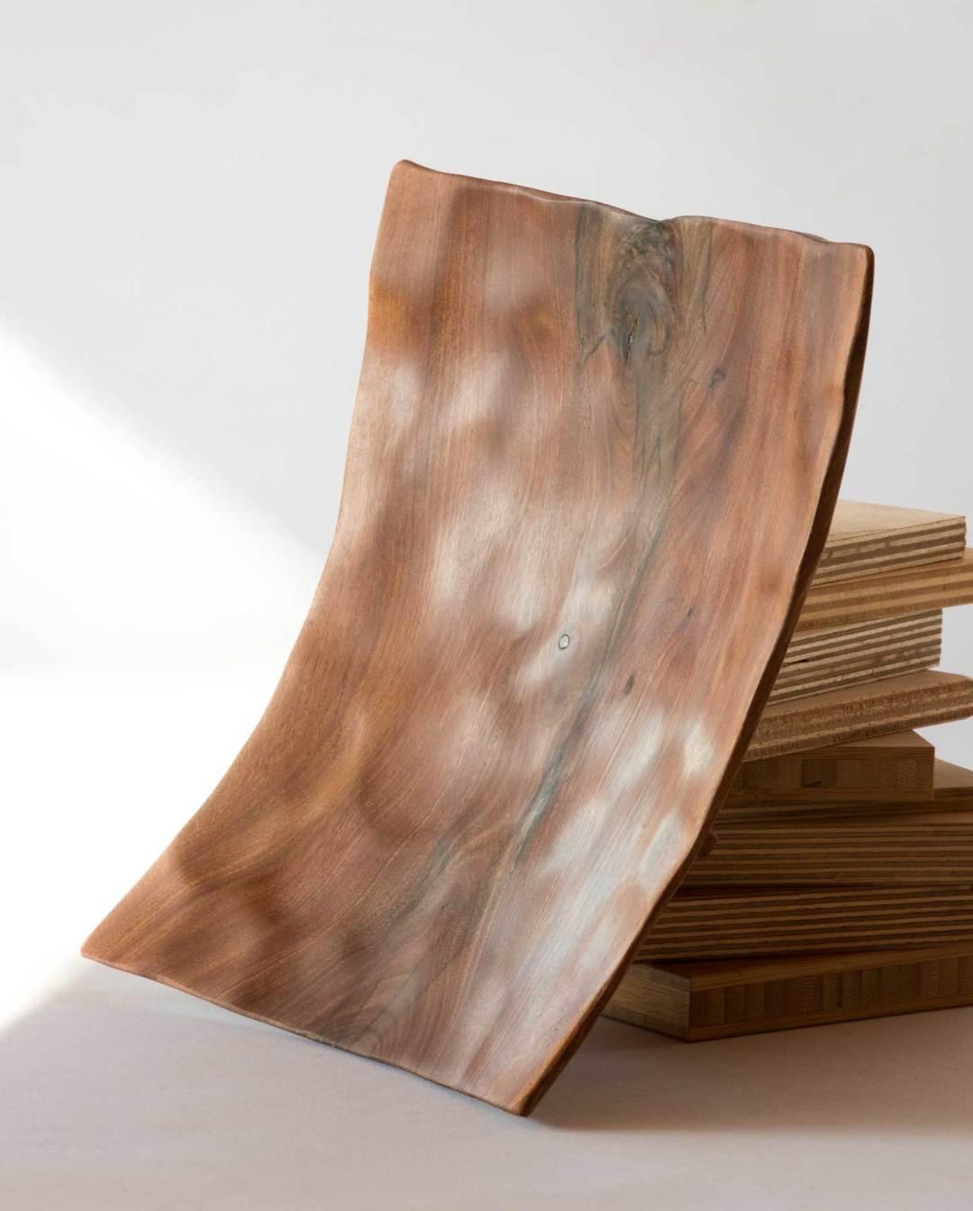 Square Wooden Platter