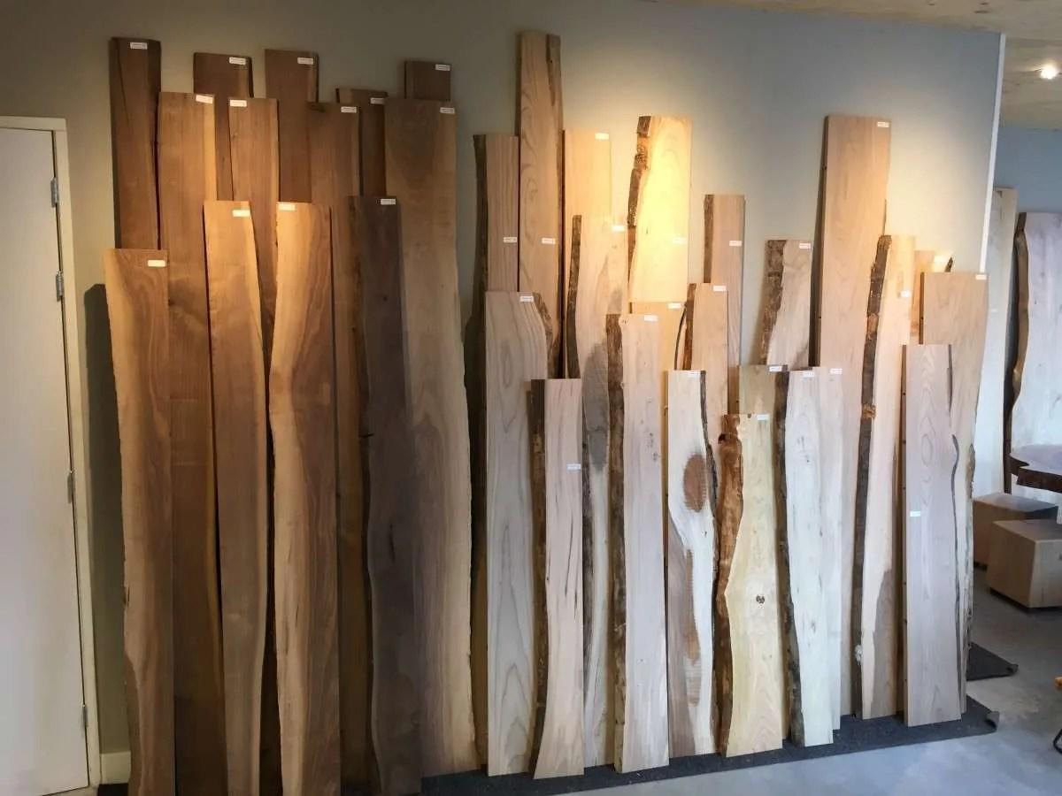 Wandplanken  blind  zwevend op te hangen wandplank  Woodend