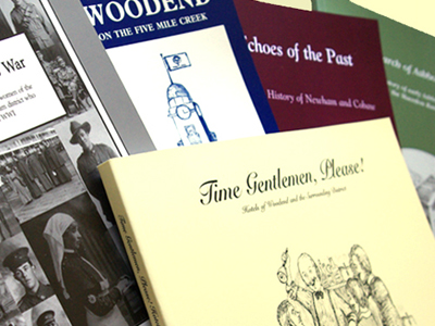 Books on Woodend history by the Woodend and District Heritage Society