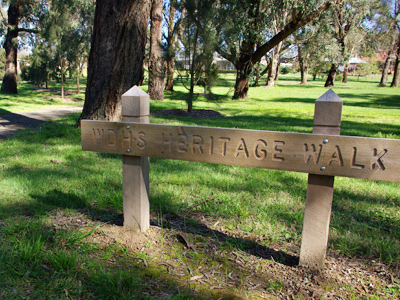 Woodend and District Heritage Society's Heritage Walk commemorates Woodend's history