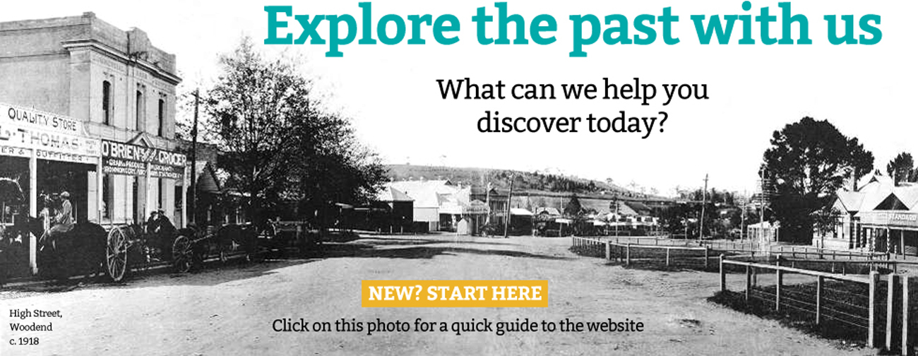 Explore Woodend history with the Woodend and District Heritage Society