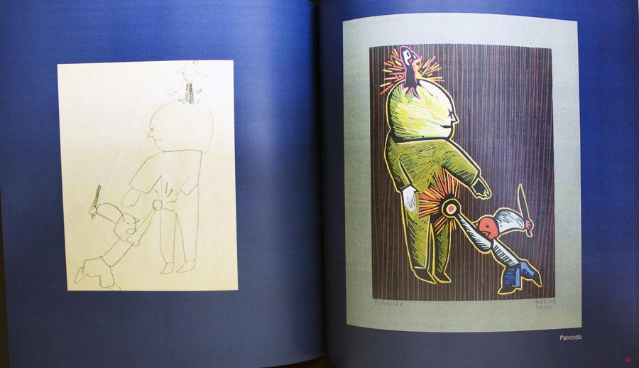 """James G. Todd's """"Looney Toones"""" Woodcuts"""