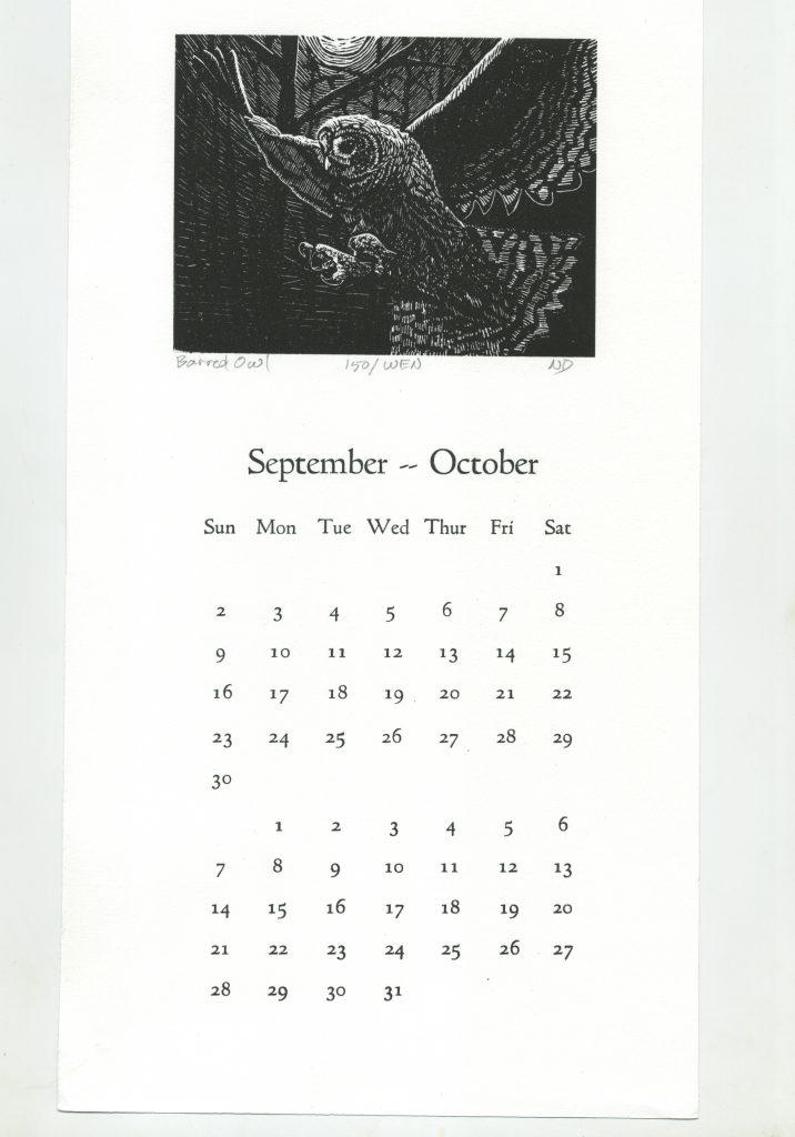 Darrell's Owl Swoops Past September & October!