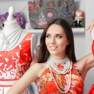 Red dresses from 123RF