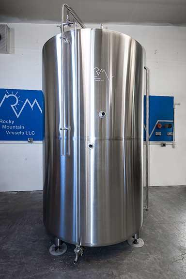 Example of a hot liquor tank.