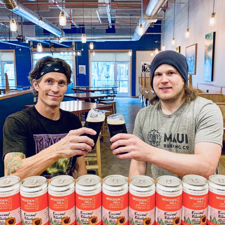Jeremy and James launch Coconut Cluster
