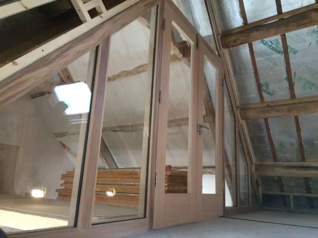attic french doors