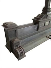 Bronze Bank Lamp - Wooden Nickel Antiques