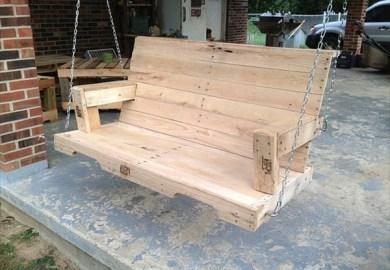 Diy Recycled Pallet Lounge Chair Pallet Furniture Diy