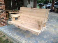 DIY Pallet Swing Plans: Chair, Bed & Bench | Wooden Pallet ...